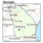 Leesburg, GA Map