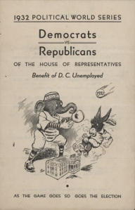 congressional baseball flyer