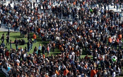 SF Giants Fan Fest 2013. Good Grief!