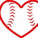 baseball heart image