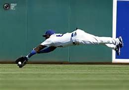 LA Dodger Yasiel Puig on  an ordinary day.