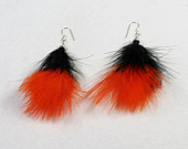 SF Giants Feather Dangles