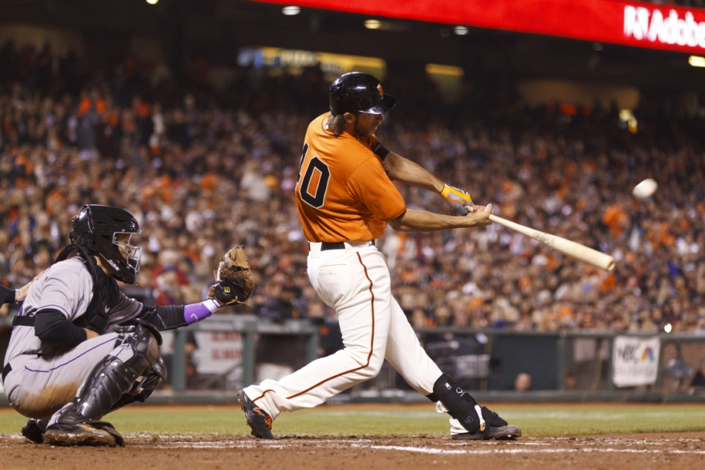 Madison Bumgarner, The Hitter!  (Photo Courtesy Getty Images)